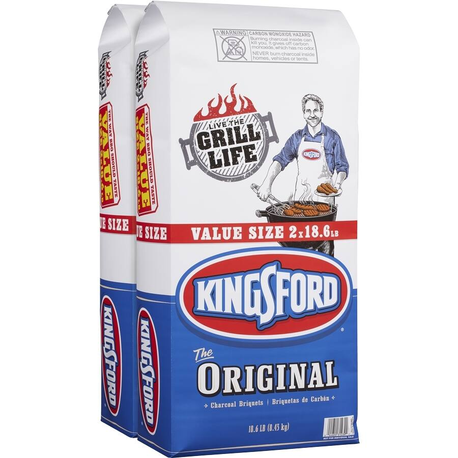 Kingsford 2-Pack 18.6-lb Original Charcoal Briquets $9.88 @ Lowes B+M!