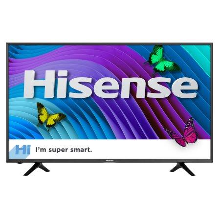 "Hisense 55"" Class 4K (2160P) Smart LED TV (55H6D) $169 @ Walmart B+M~YMMV"