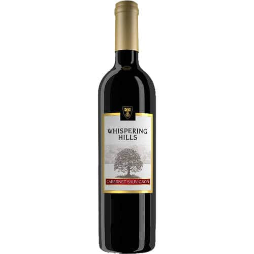 Whispering Hills Cabernet Sauvignon Wine 750 ml & Other Variants $2.25~Marked Down From $2.96 @ Walmart B+M!