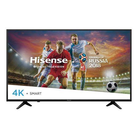 "Hisense 49"" Class 4K Ultra HD (2160p) HDR Smart LED TV (HIS49H6E) $249.99 @ Walmart.com~Free Shipping!"