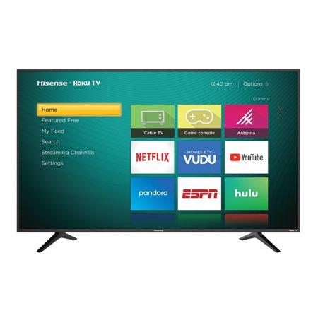 "Hisense 60"" Class 4K Ultra HD (2160P) HDR Roku Smart LED TV (60R6E) $349.99 @ Walmart B+M~YMMV!"