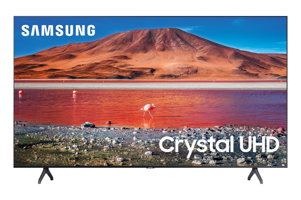 """SAMSUNG 50"""" Class 4K Crystal UHD (2160P) LED Smart TV with HDR UN50TU7000 2020 Model~$327.99 @ Walmart.com~Free Delivery Or Pickup!"""