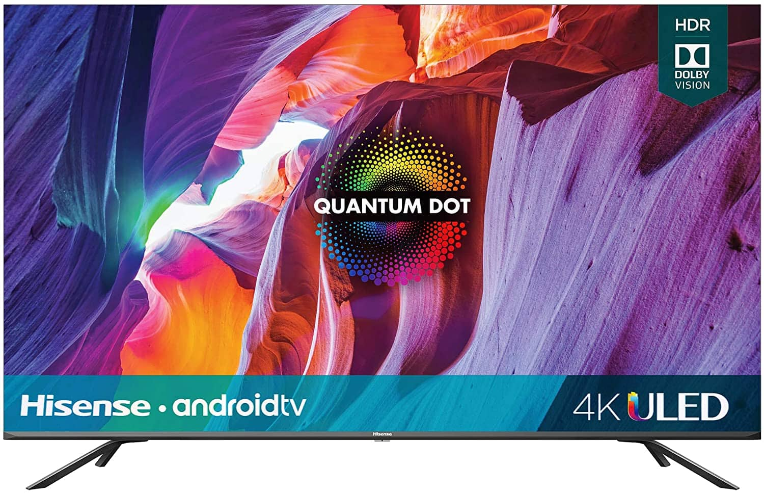 Hisense 50-Inch Class H8 Quantum Series Android 4K ULED Smart TV with Voice Remote (50H8G, 2020 Model)~$349.99 @ Amazon~Free Prime Shipping!
