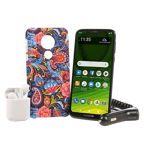 "Motorola Moto G7 Optimo Maxx 6.2"" Tracfone with 1500 Min/Text/Data~$89.99 @ HSN After Coupon Code~Free Shipping!"