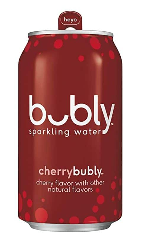 Bubly Sparkling Water Cherry, Lime, Mango, Blackberry Or Strawberry 12 fl Oz. Cans (18 Pack) $7.23 Or Lower With S&S @ Amazon~Free Prime Shipping!