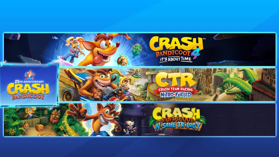 Crash Bandicoot - Crashiversary Bundle $60 at Nintendo.com