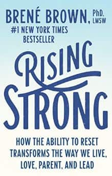 Rising Strong by Brené Brown - Kindle & Apple Books - $4.99