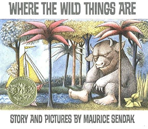 Where the Wild Things Are Hardcover, $6.50 at Amazon