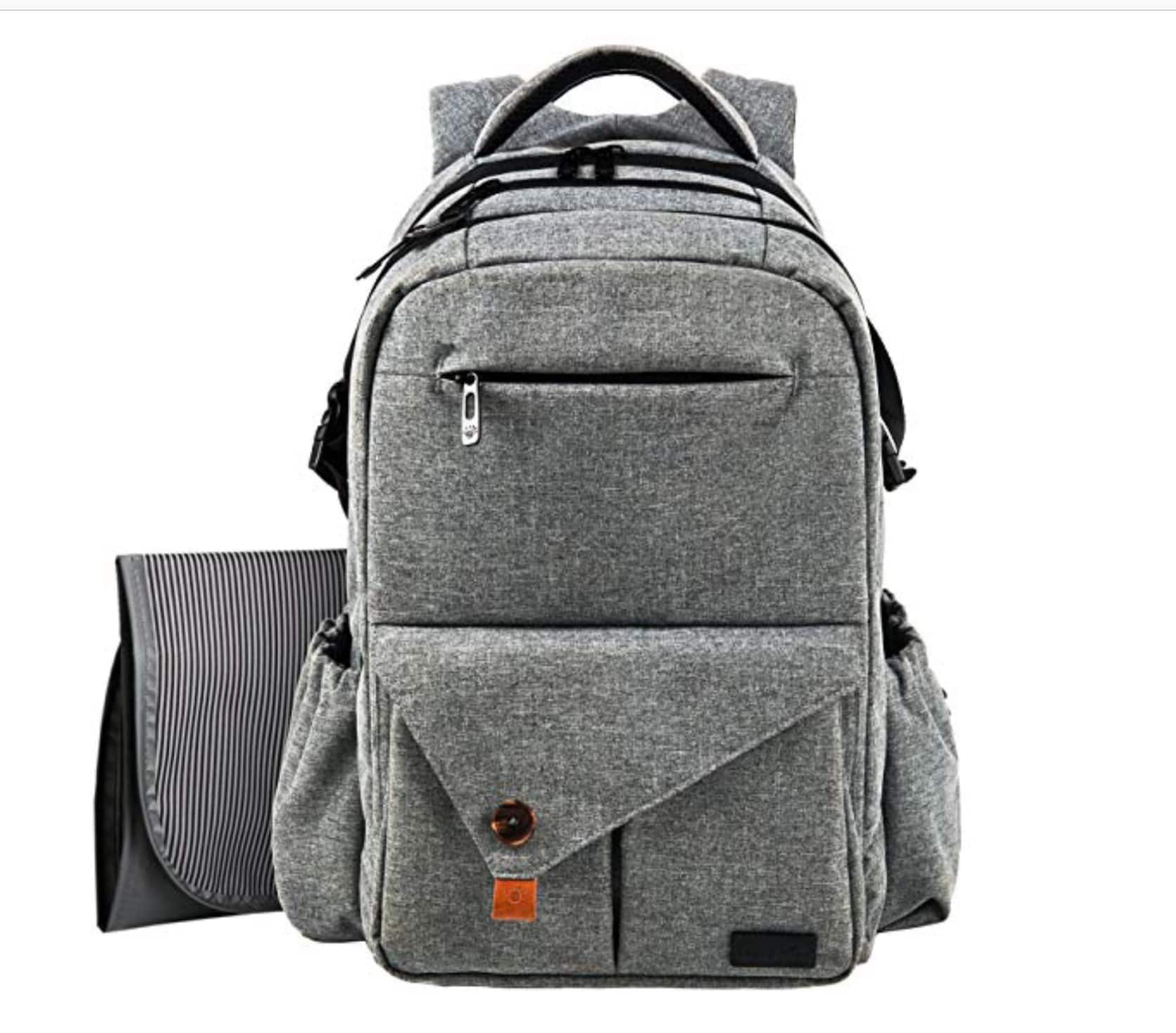 Large multi-functional diaper bag backpack $23.50 at Amazon.com