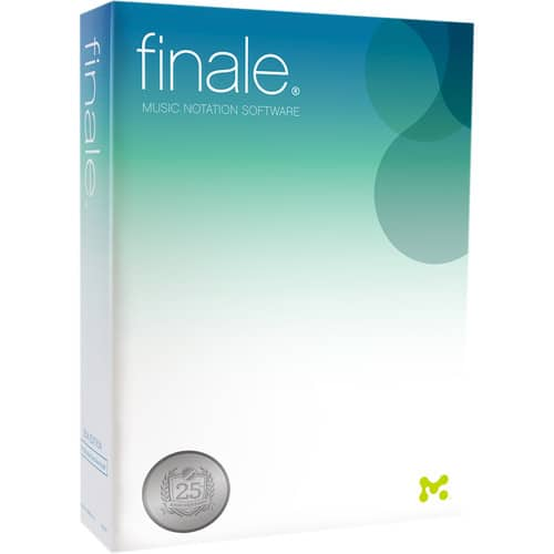 MakeMusic Finale 25 full version - $149 - B&H Photo or Amazon