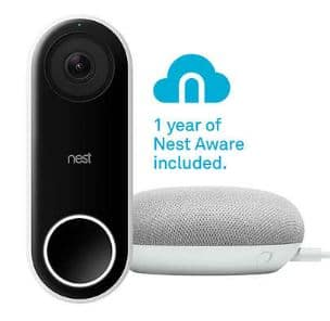 Costco Members: Nest Hello Video Doorbell + 1-Yr Nest Aware