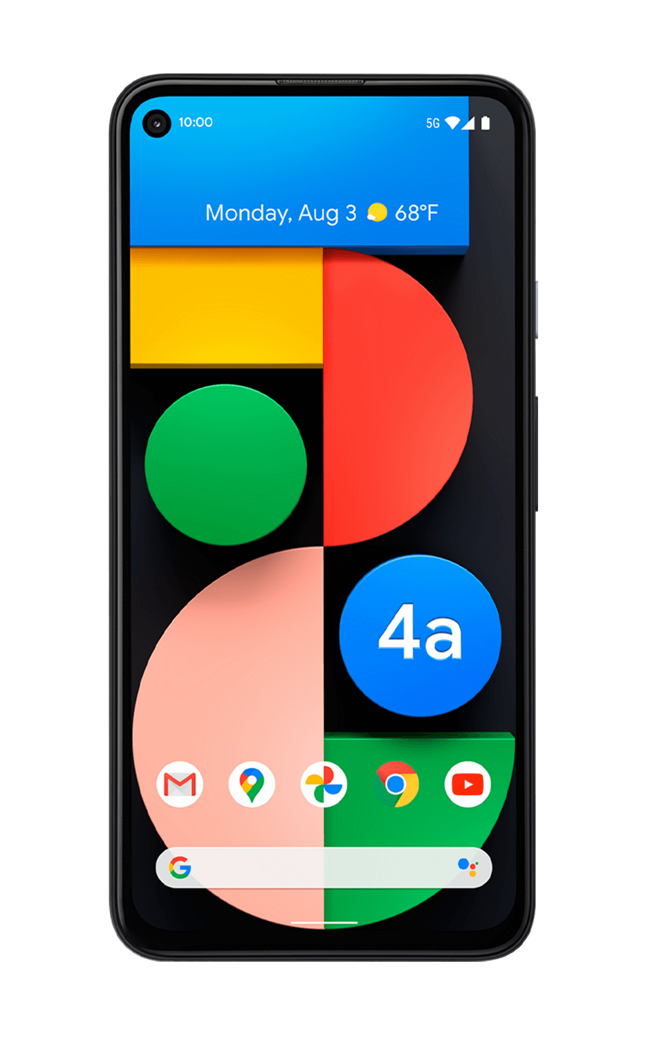 Pixel 4a 5G for $349.99 at T-mobile