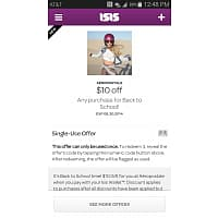 Aeropostale Deal: $10 Off $10 at Aeropostale using ISIS Wallet App *In-Store Only*