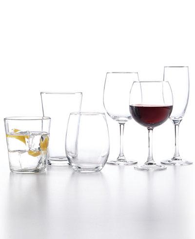 The Cellar Basics 12-Pc Glassware Sets $7.99 + Free Store Pickup