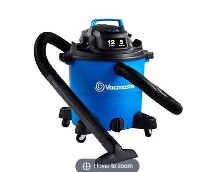 Vacmaster 12 gallon vaccum at BJs.com for $29.98