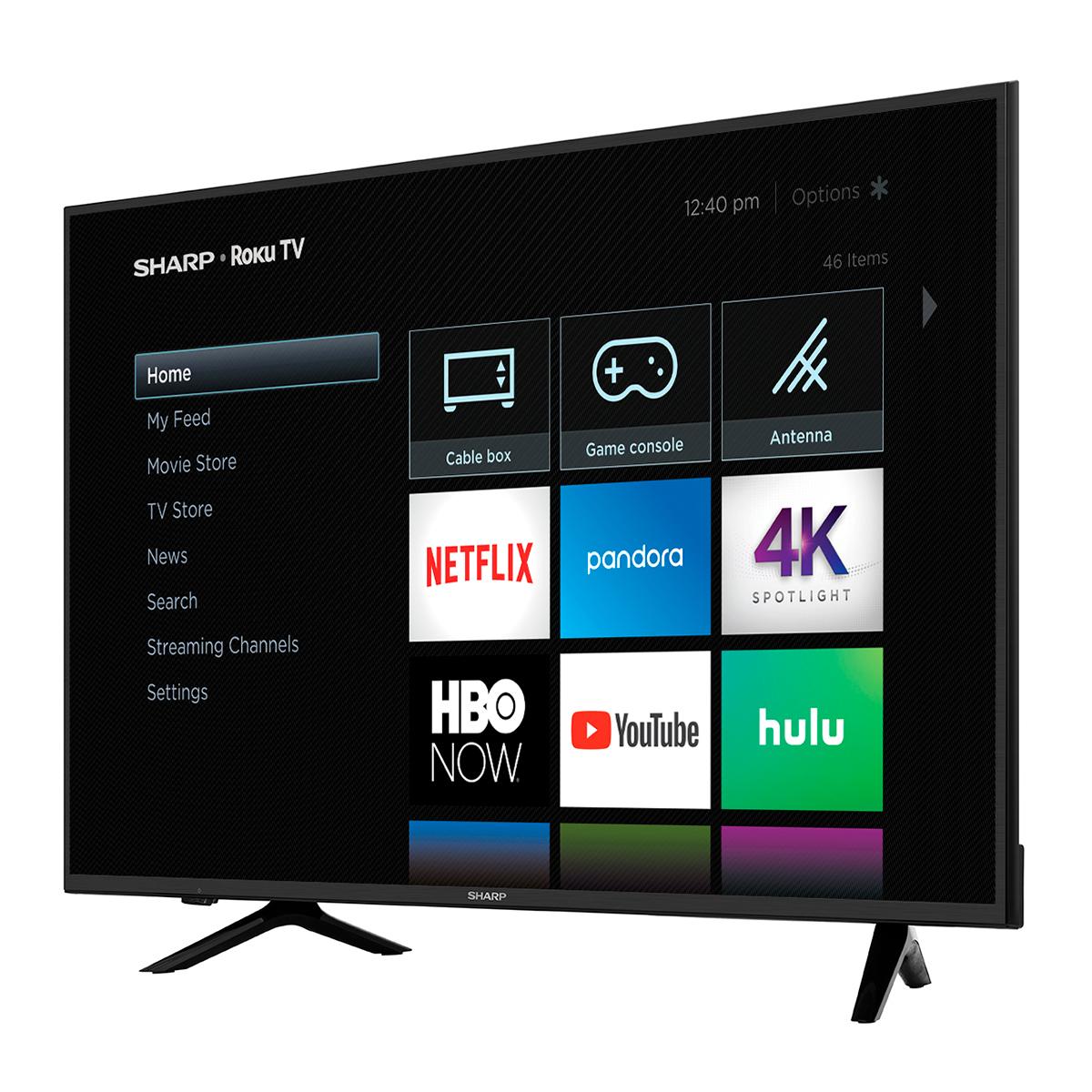 "Sharp 65"" Class 4K Ultra HD (2160P) Roku Smart LED TV ( 65Q7330U) $399"