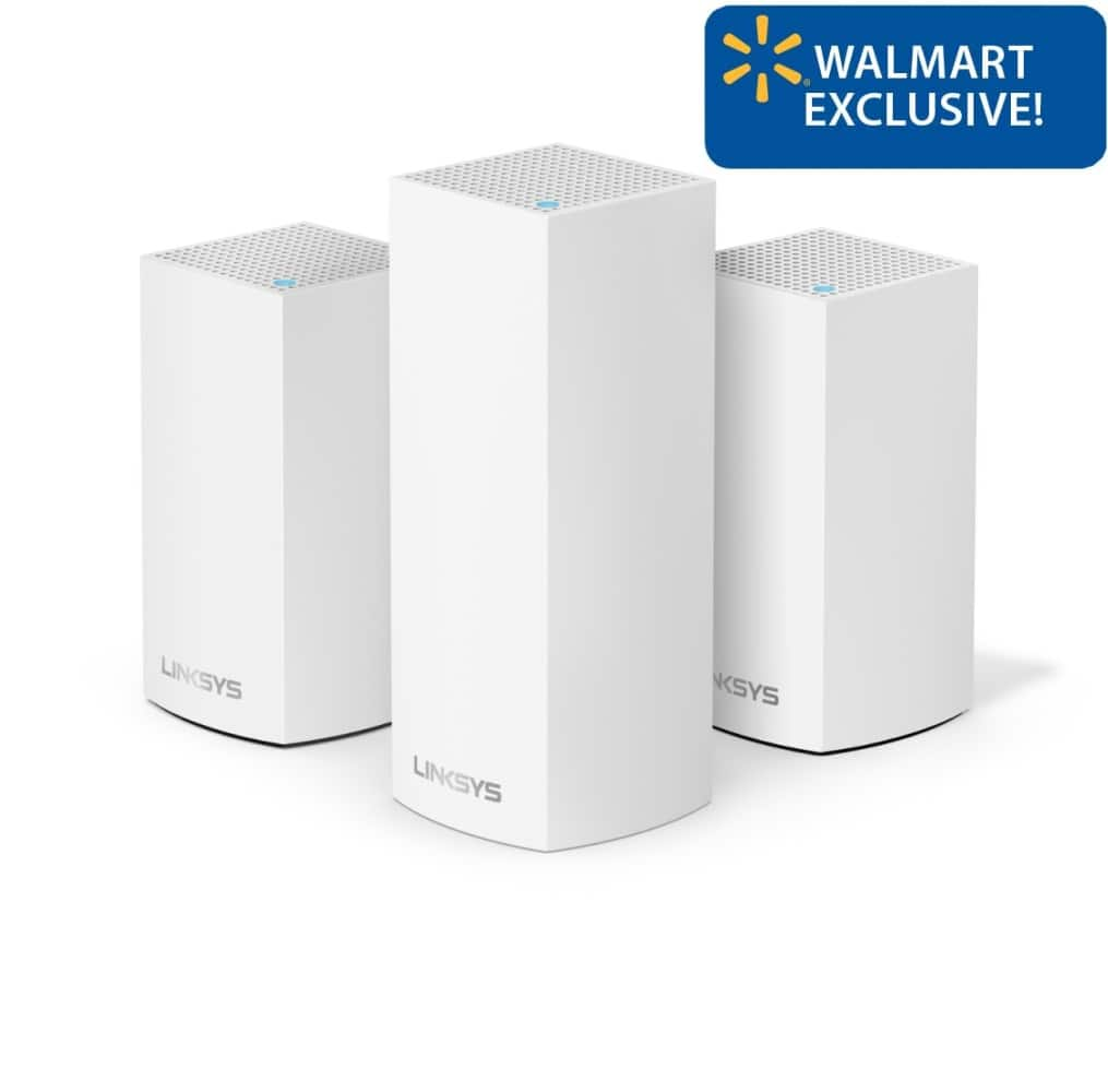 Linksys Velop Triband AC4800 Intelligent Mesh WiFi Router | 3 Pack | YMMV $154