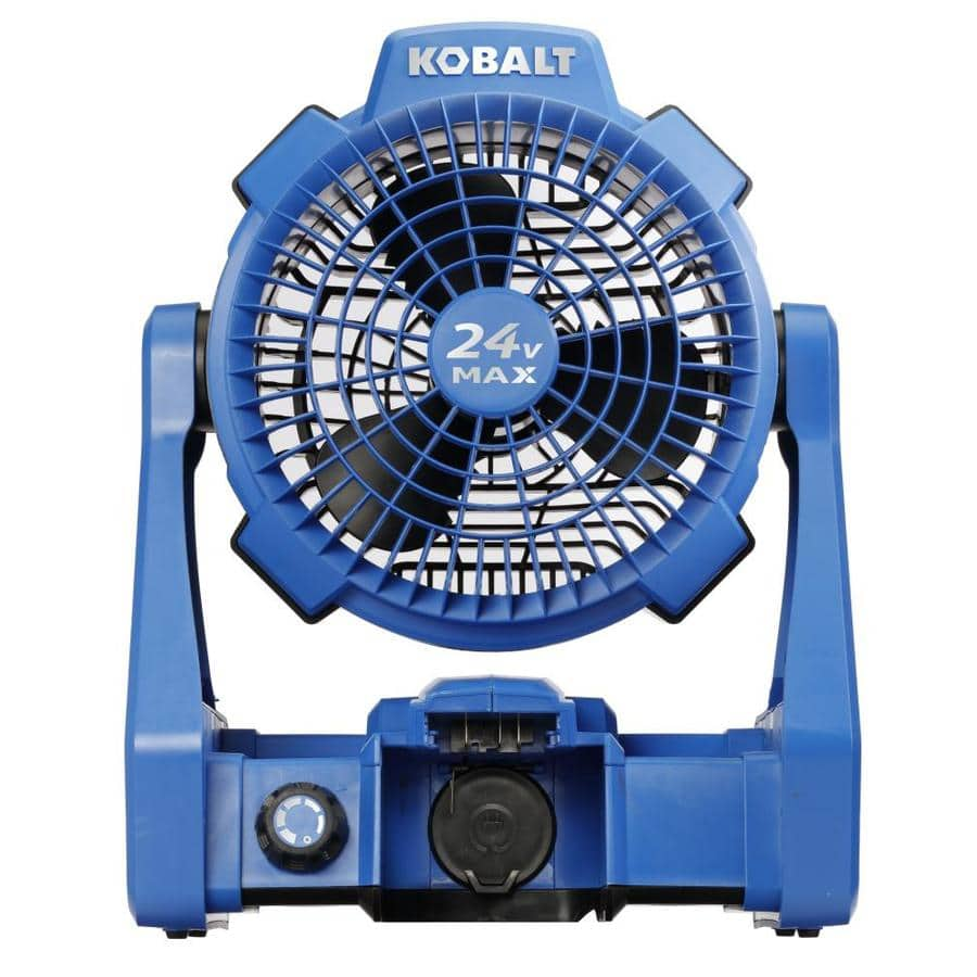 *YMMV* Kobalt Hybrid 24-Volt Max Jobsite Fan (Battery Not Included) $49