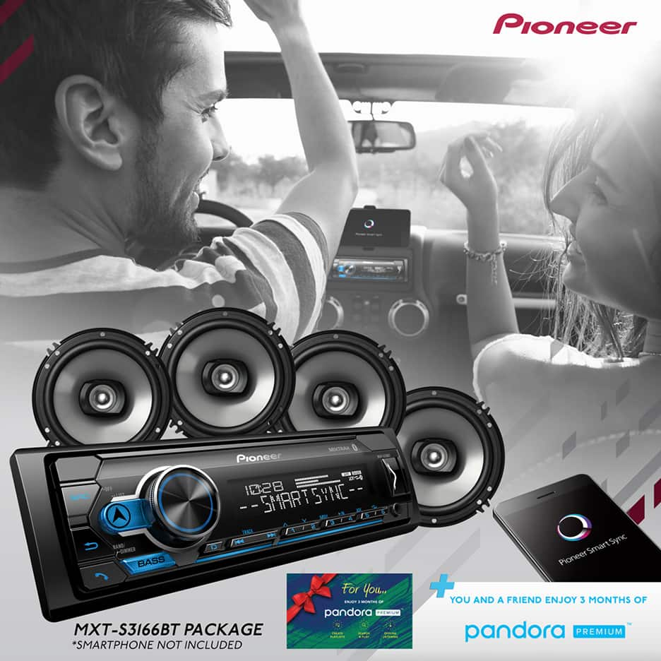 Pioneer 2018 Digital Media Receiver & Speaker Holiday Bundle YMMV $19