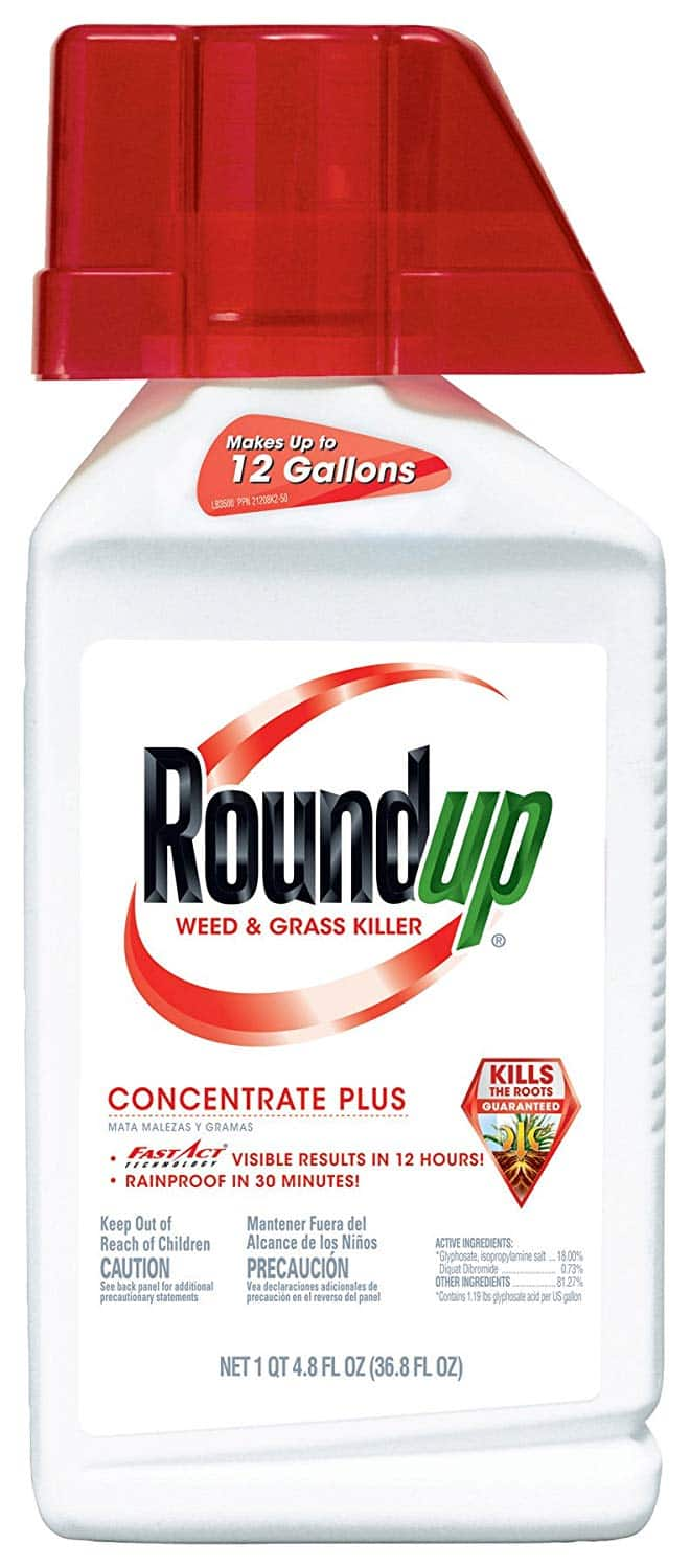 Up to 44% off Lawn Care Products @ Amazon: Roundup Weed & Grass Killer (36.8-oz.) $14.40