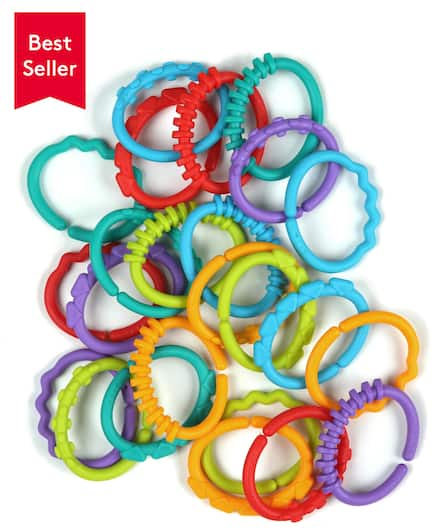 Bright Starts (Kids2) Lots of Links™ - Teething and Carrier for Baby - $2 + Free Shipping