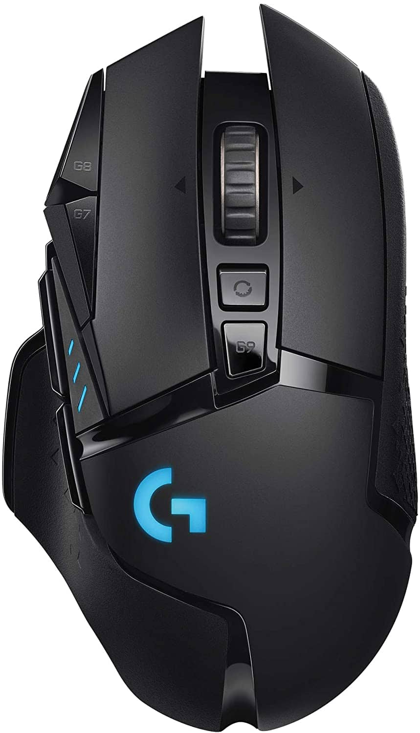 Logitech - G502 Lightspeed Wireless Optical Gaming Mouse with RGB Lighting - $119.99
