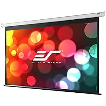 Elite Screens VMAX2, 135-inch 16:9, Wall Ceiling Electric Motorized Projector Screen @ Amazon for $361.00 FS