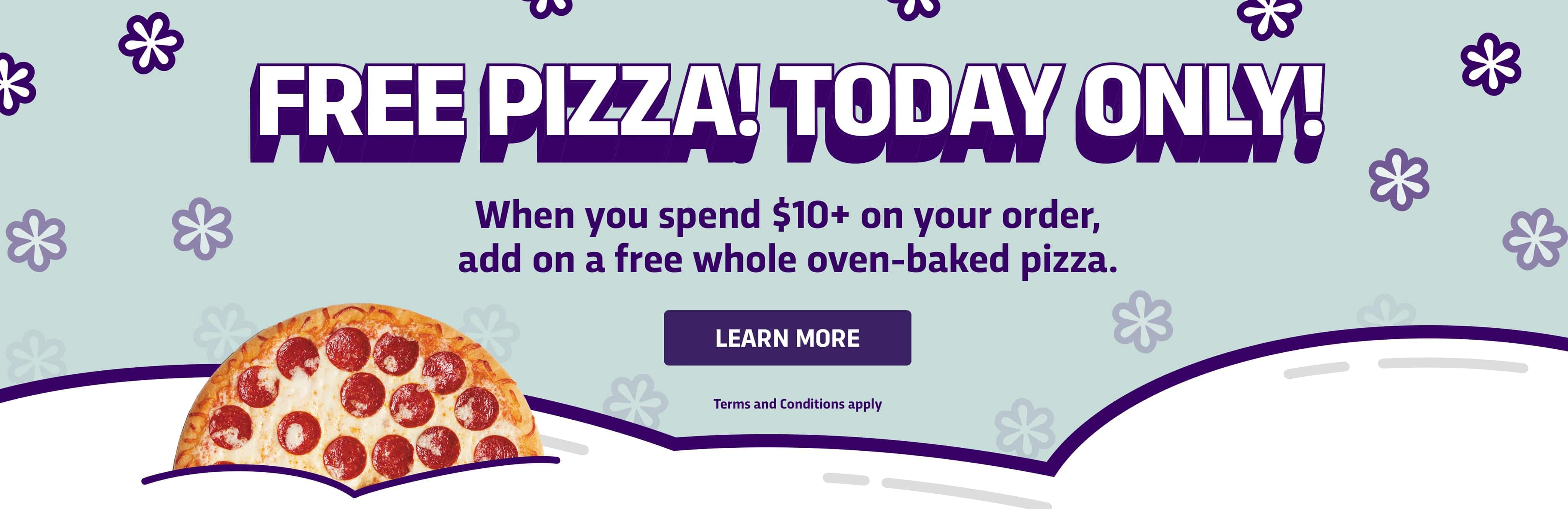 Free Pizza 7-11NOW App Mistake (Plus $1.99 Delivery Fee)