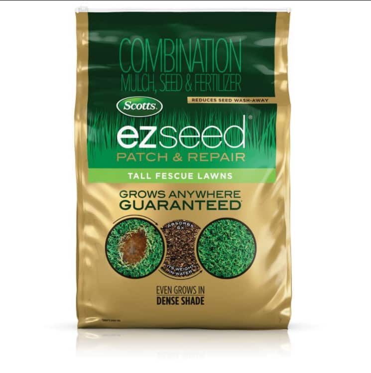 20 lbs. Scotts EZ Seed Patch and Repair for Tall Fescue Lawns YMMV $11.3