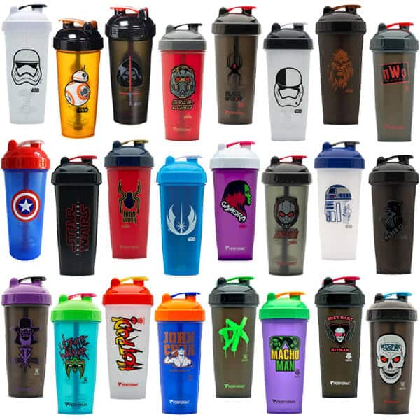 10 x perfectshaker performa 28oz shaker bottles custom logos $19.99