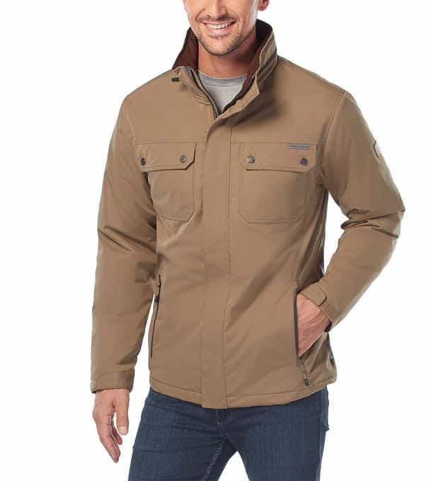 Costco - Rugged Elements Men's Trek Jacket - Online $21.99 After $8 OFF & Free Shipping ($29.99 in store)