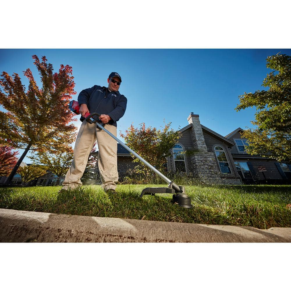 Home Depot Special Buy of the Day Milwaukee M18 FUEL 18-Volt Lithium-Ion Brushless Cordless String Trimmer Kit with 9.0Ah Battery and Rapid Charger $219