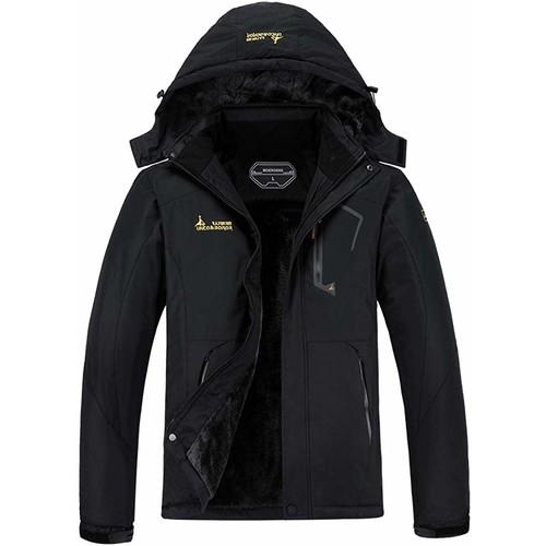 MOERDENG Men's Waterproof Ski Jacket Warm Winter Snow Coat $42.24