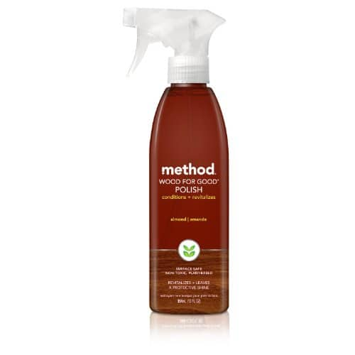 Method Wood for Good Polish, Almond, 12 Ounce (Pack of 6) $3.79 Amazon S&S or less
