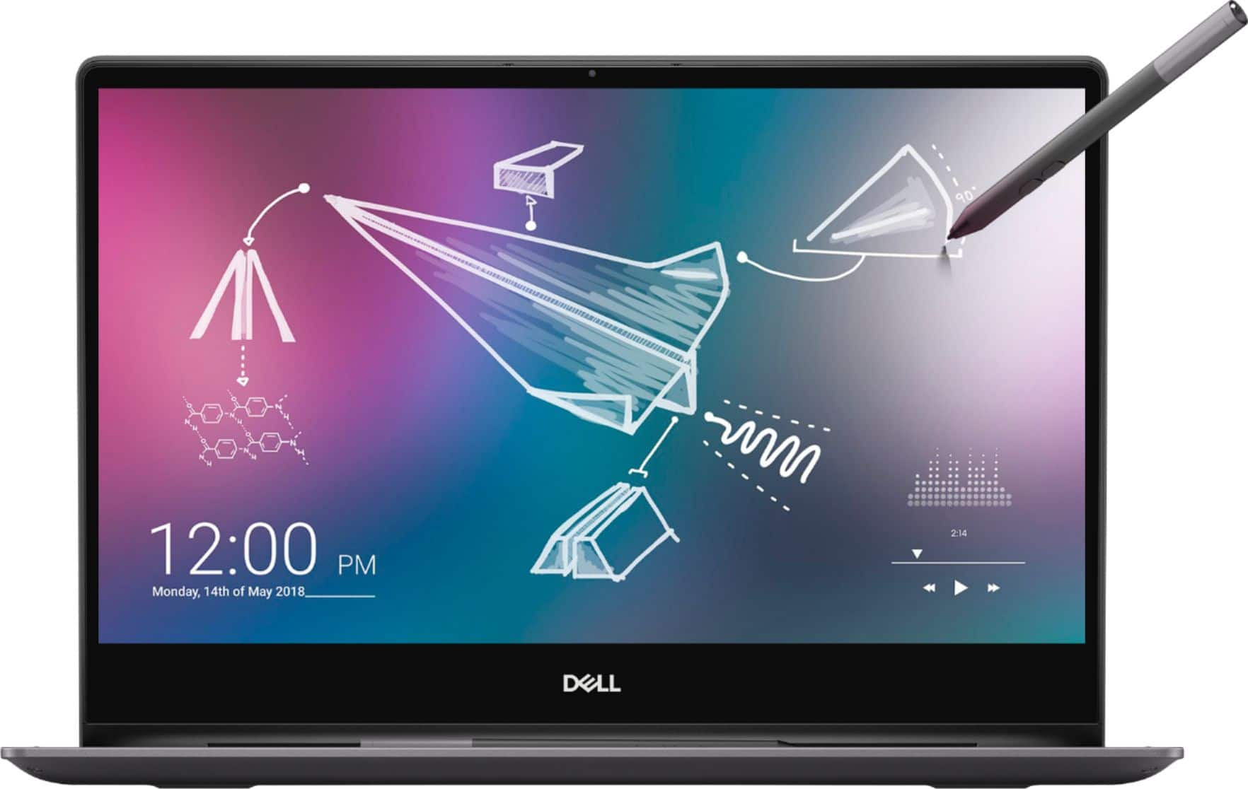 """Dell Inspiron 2-in-1 13.3"""" 4K Ultra HD Touch-Screen Laptop Intel Core i7 16GB Memory 512GB SSD + Optane Black I7390-7100BLK-PUS - Best Buy $979"""
