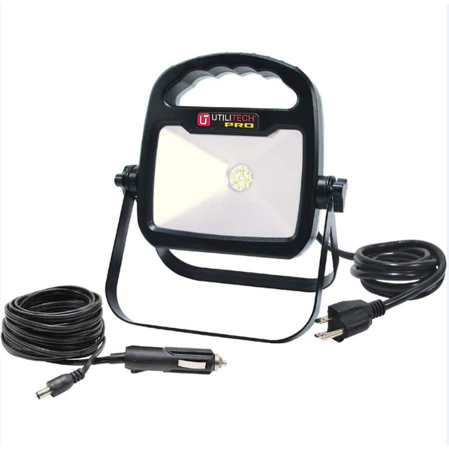 Lowes YMMV: Utilitech Pro 10watt 700lumens 4000k LED Portable Work ...