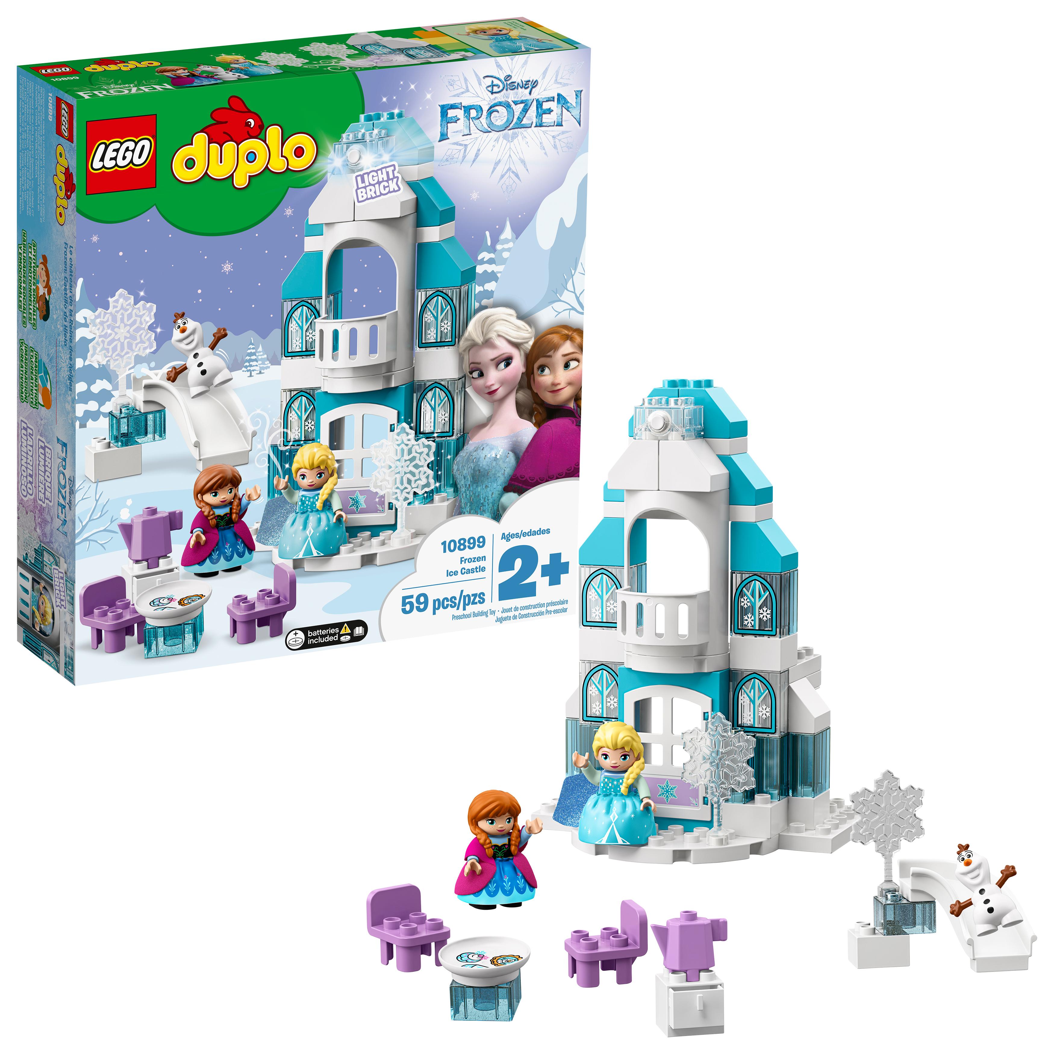 LEGO DUPLO Princess Frozen Ice Castle 10899 Toddler Toy Building Set, $40.99