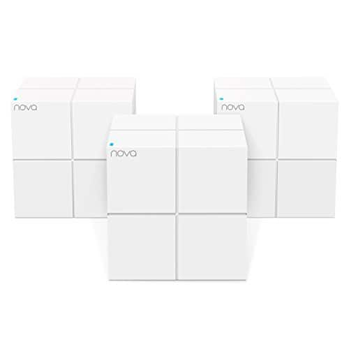 Amazon Tenda Nova Whole Home Mesh WiFi System -  Dual Band, Works with Amazon Alexa, Built for Smart Home, Up to 6,000 sq. ft. Coverage (MW6 3-PK) $149.99