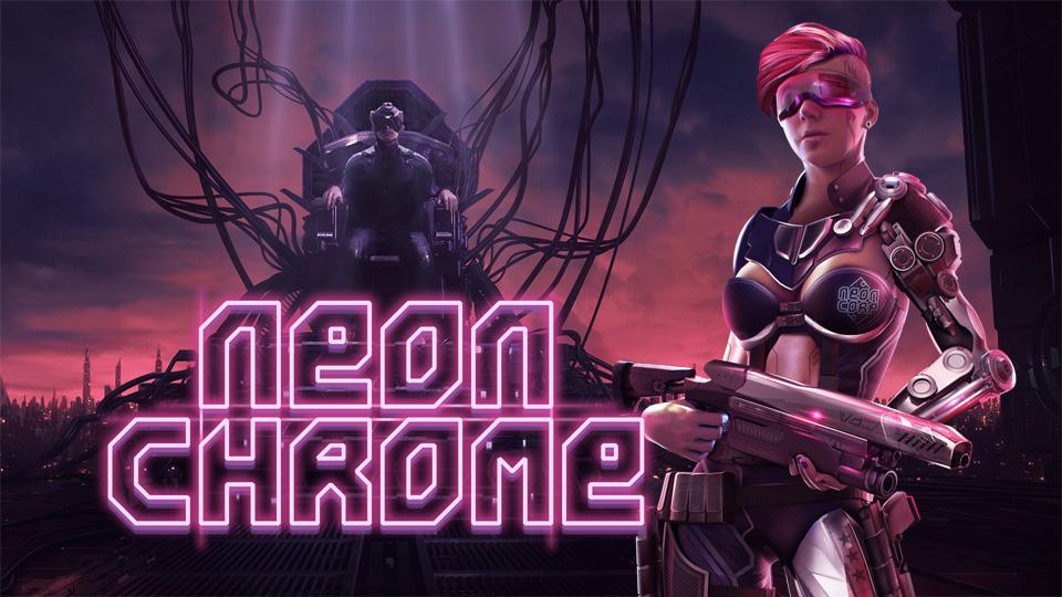 Nintendo Switch - Neon Chrome 70% off @ nintendo store $4.49