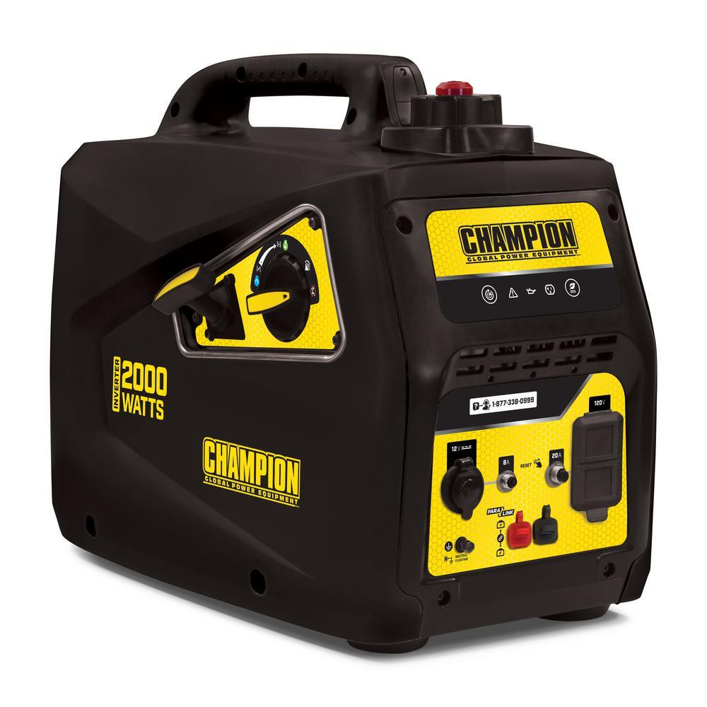 Champion 2000 watt inverter generator Home Depot $299 YMMV