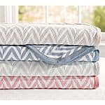 Pottery Barn Chevron Blankets 50% off plus extra 15%off  (regular $99-$129) + FS