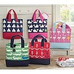 Pottery Barn Kids Nantucket Anchor or Sailboat Totes--$10.99 +FS (Reg. $44.50)