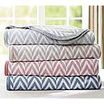 Pottery Barn Chevron Blankets $34.99 full/ queen $39.99 King (Reg. $99 and $129) FS