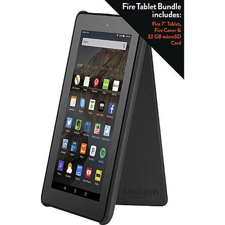 "BACK AGAIN - *Live Now* Amazon 7"" Fire Tablet + Fire Cover + 32GB Micro SD Card for $54.99 + Tax + Free Shipping or Store Pickup Kmart and Sears"