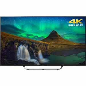 """Sony 65"""" Class XBR65X850C 4K Ultra HD Android LED Smart $900 @ Frys"""