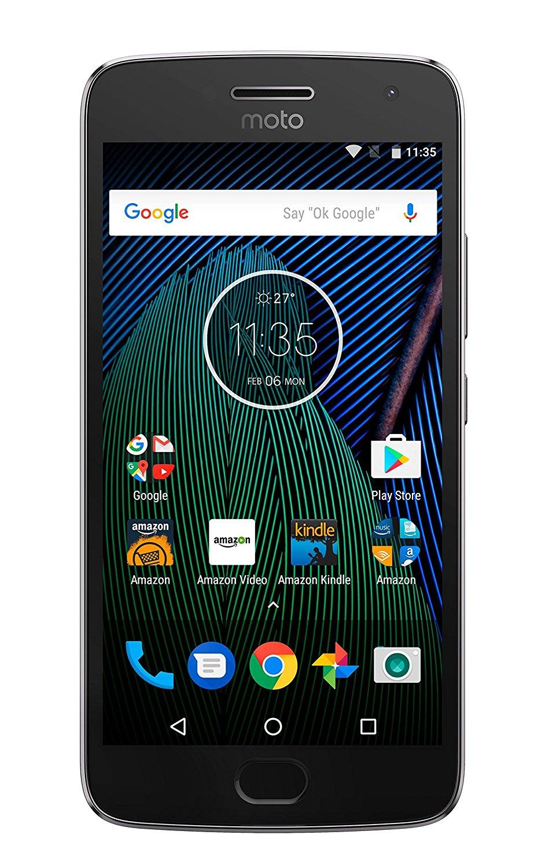 Moto G Plus (5th Generation) - Lunar Gray - 64 GB  4 GB RAM- Unlocked $179.99