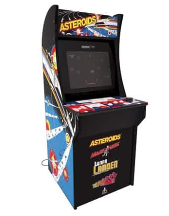 Asteroids Arcade Machine, Arcade1UP YMMV WALMART $75