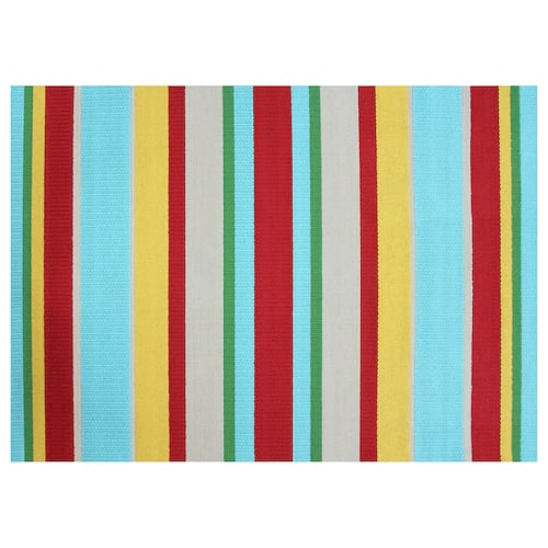 Kohl S Cardholders Sonoma Goods For Life Multi Stripe Indoor Outdoor Rug 6 5x9