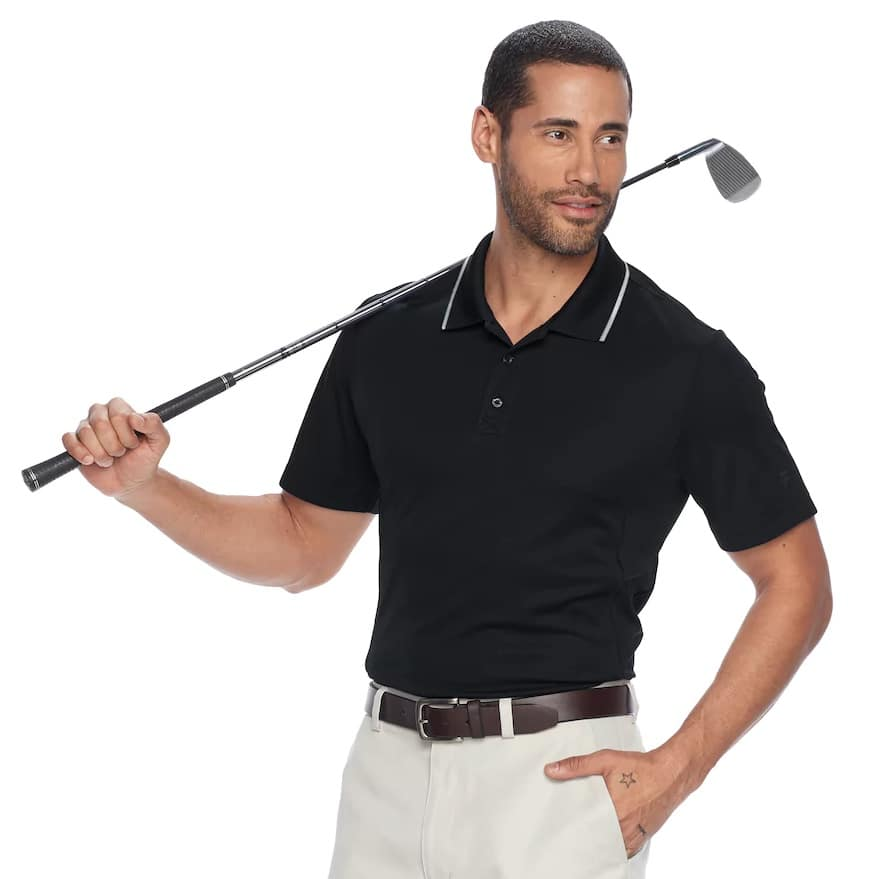 """Kohl's Cardholders:Get """"4"""" Men's FILA SPORT GOLF® Athletic-Fit Pro Core Performance Polos + 1 washcloth (as filler) for $28.34 + Free Shipping"""