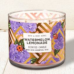 Bath & Body Works 25% Off Entire Purchase(on line and in store) - 3 Wick Candles Only $9.71 plus many other products on sale